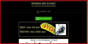 motorbike hire phuket